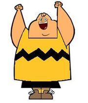 Owen as Charlie Brown