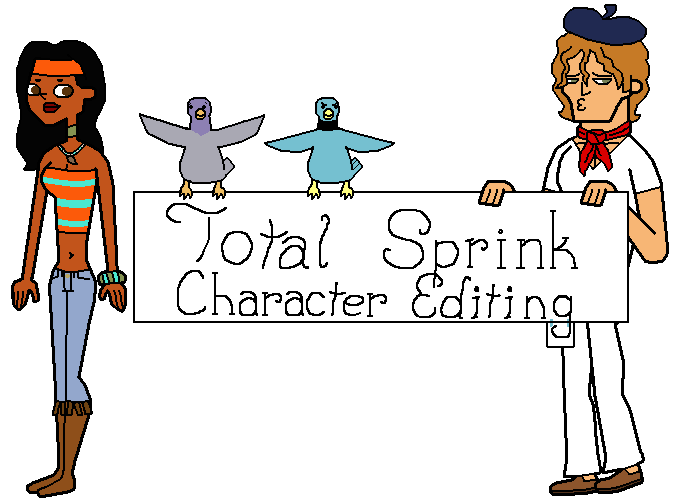 Totalsprinkcharacterediting