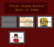 Total drama author hall of fame