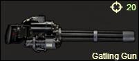 Gatling Gun New