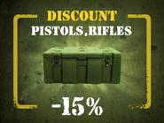 Rifles, Pistols discount