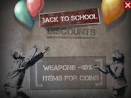 Back for School Discounts