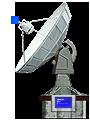 Blue Base Satelite