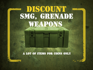 SMG, Grenade Weapons discount