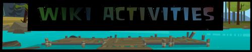 Wiki activities