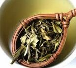White tea leaves