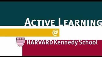 Active Learning @ Harvard Kennedy School