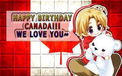 Happy birthday canada by mangakid14-d55pc1y