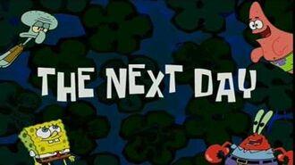 The Next Day - SpongeBob Time Card -27