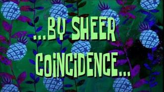 ...By Sheer Coincidence... - SpongeBob Time Card -114