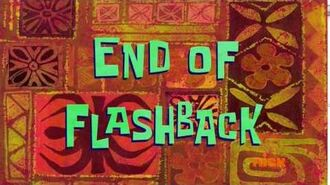 End of Flashback - SpongeBob Time Card -120