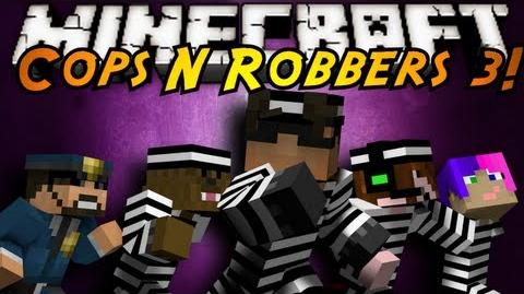 Minecraft Mini-Game COPS N ROBBERS 3!
