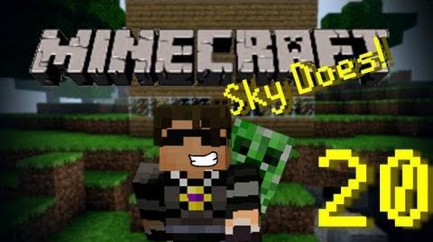 Sky Does Minecraft Episode 20 Michael Mc Lag Ft. MichaelMcCraft