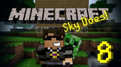 Sky Does Minecraft Episode 8 We Have Struck Diamond