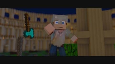 """♪ """"Hunger Games Song"""" - A Minecraft Parody of Decisions by Borgore (Music Video)"""