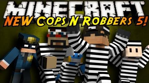 Minecraft Mini-Game THE NEW COPS N ROBBERS ROUND 5!