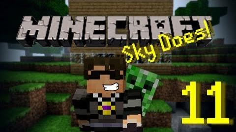 Sky Does Minecraft Episode 11 Exploring the New World