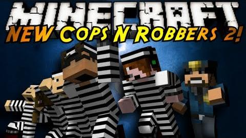 Minecraft Mini-Game THE NEW COPS N ROBBERS ROUND 2!