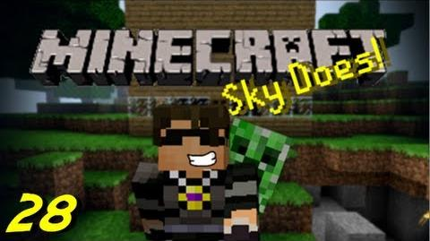 Sky Does Minecraft Episode 28 R.I.P Skyhub 2.0