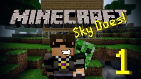 Sky Does Minecraft Episode 1 Shelter-0