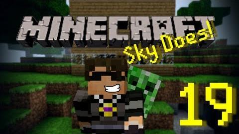 Sky Does Minecraft Episode 19 Sky Does Lagcraft Ft. Antvenom