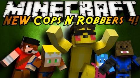 Minecraft Mini-Game THE NEW COPS N ROBBERS ROUND 4!
