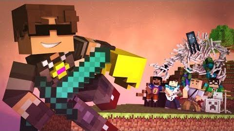 """""""New World"""" - A Minecraft Parody of Coldplay's Paradise (Music Video)"""