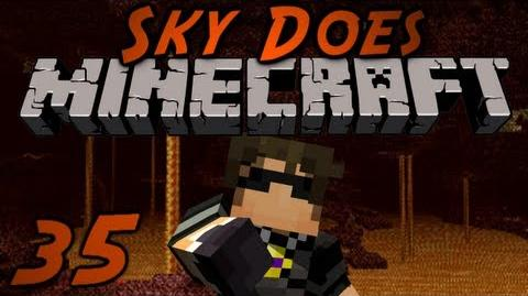 Sky Does Minecraft Episode 35 Into The Nether