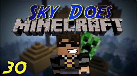Sky Does Minecraft Episode 30 Into the Mine we go