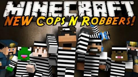 Minecraft Mini-Game THE NEW COPS N ROBBERS 2.0!