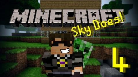 Sky Does Minecraft Episode 4 Never Dig Straight Down