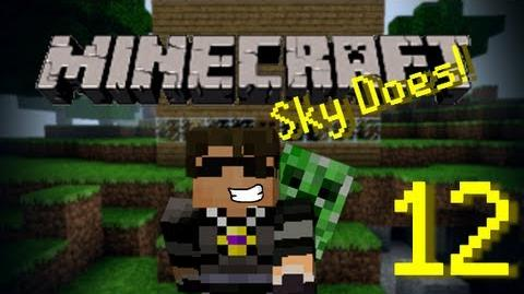 Sky Does Minecraft Episode 12 Antvenom is Bad Luck Part 1