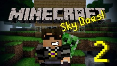 Sky Does Minecraft Episode 2 Douchebag Room mate