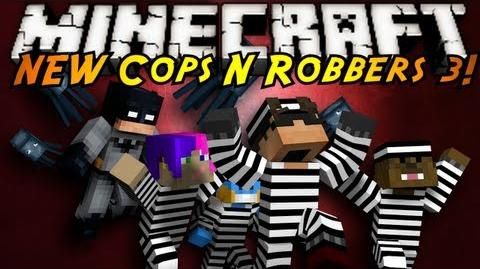 Minecraft Mini-Game THE NEW COPS N ROBBERS ROUND 3!