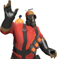 Pyro with the Pyro's Beanie TF2