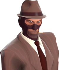 Spy with the Fancy Fedora TF2