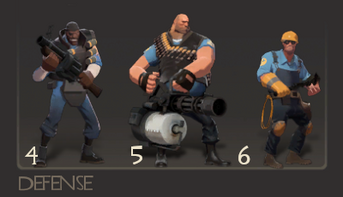 Defensive classes TF2
