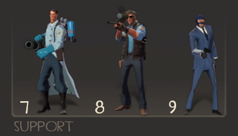 Support classes TF2