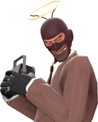 Spy with the Cheater's Lament TF2
