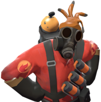 Pyro with the Respectless Rubber Glove TF2