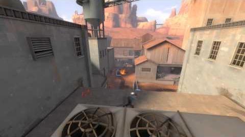 Epic Rocket-Walljump Kill - Team Fortress 2 Badwater Basin Replay HD