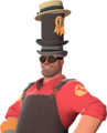 Engineer with the J.Axer's Dapper Topper TF2.png