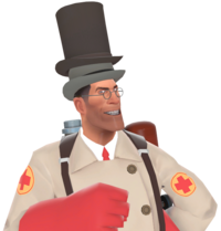 Medic with the Noble Amassment of Hats TF2