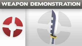Weapon Demonstration Prinny Machete