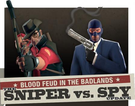 Sniper Vs Spy Update Team Fortress Wiki Fandom Powered By Wikia