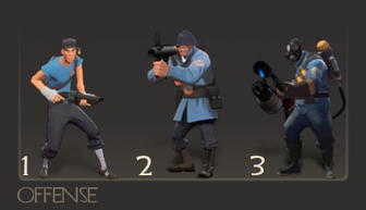 Offensive classes TF2