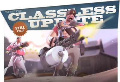Classless Update banner TF2