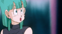 Bulma refuses Dr. Wheelo's request for her body