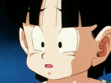 Gohan reacting to Dende's confession