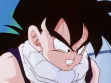 Gohan reacts to Tien